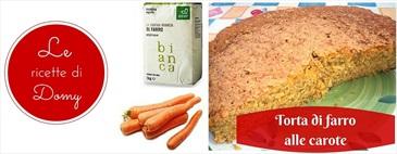 Torta di farro alle carote