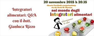 Integratori alimentari: Q&A con il dott. Gianluca Rizzo
