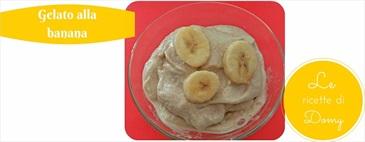 Gelato alla banana