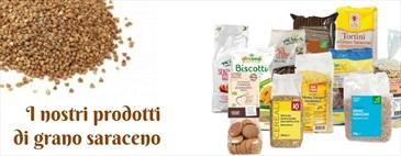 I prodotti di grano saraceno da Biolis