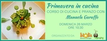 Marzo 2017-  Corso di cucina e pranzo con M.Garaffo