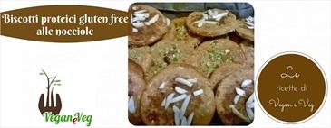 Biscotti proteici gluten free alle nocciole