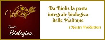 Da Biolis la pasta integrale biologica delle Madonie