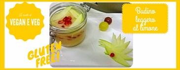 Budino leggero al limone - senza glutine