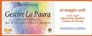 26-05-18 GESTIRE LA PAURA approcci olistici
