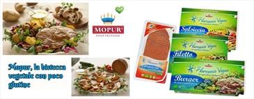 Mopur, la bistecca vegetale con poco glutine