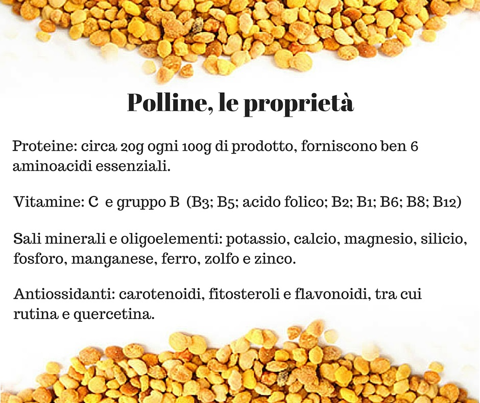 Le proprietà del polline d'api | Da Biolis - negozio biologico di Messina trovi il polline d'api