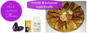 Frittelle di melanzane vegan friendly