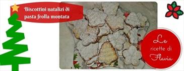 Biscotti natalizi di pasta frolla montata