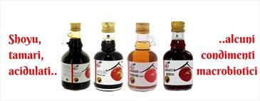 Dallo shoyu al tamari, condimenti macrobiotici