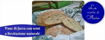 Pane di farro con semi a lievitazione naturale