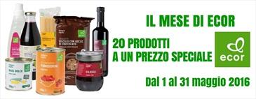 """Promo """"Il mese di Ecor"""" - 20 prodotti a un prezzo speciale"""