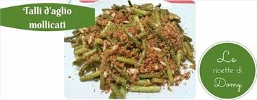 Talli d'aglio mollicati