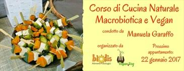 Corso di cucina naturale macrobiotica e vegan da Biolis
