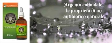 Argento colloidale, un antibiotico naturale