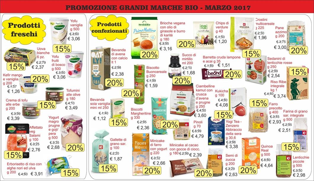 purchase cheap 68be9 f75c2 Grandi Marche Bio - Offerte marzo 2017