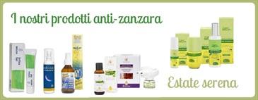 Estate serena: i nostri prodotti anti-zanzara