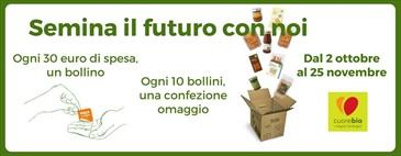 Per te una confezione di prodotti con Semina il Futuro