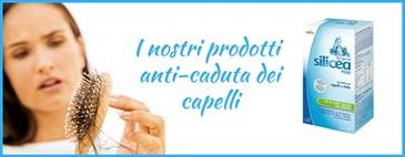I nostri prodotti anti-caduta dei capelli