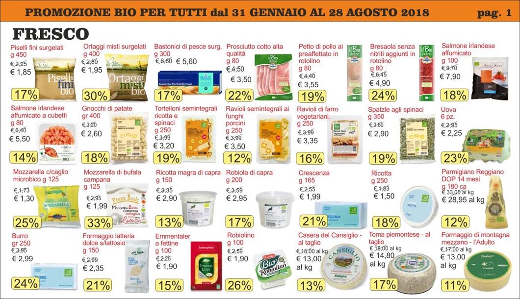 Volantino offerte Bio per Tutti da Biolis - Negozio bio di Messina - Pag 1