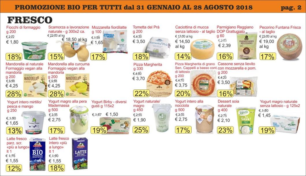 Volantino offerte Bio per Tutti da Biolis - Negozio bio di Messina - Pag 2
