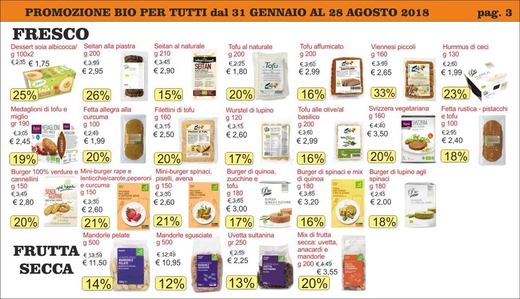 Volantino offerte Bio per Tutti da Biolis - Negozio bio di Messina - Pag 3