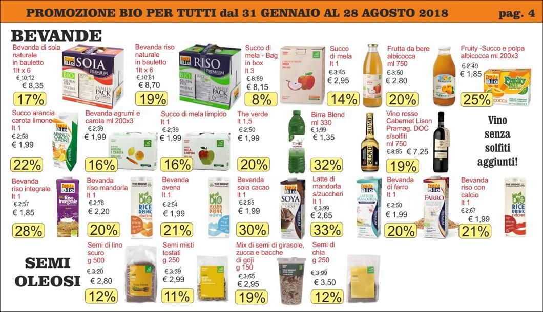 Volantino offerte Bio per Tutti da Biolis - Negozio bio di Messina - Pag 4