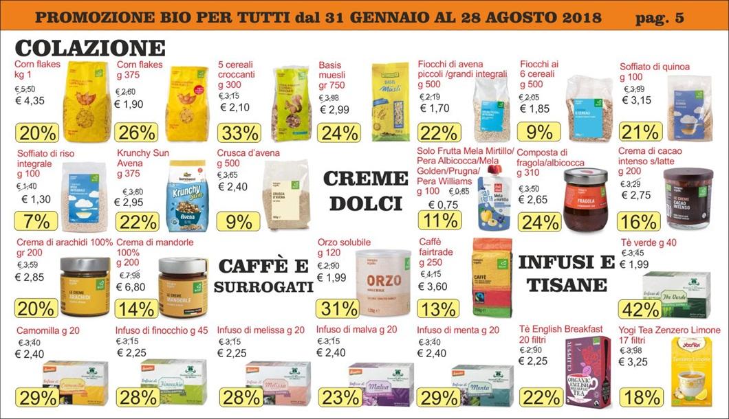 Volantino offerte Bio per Tutti da Biolis - Negozio bio di Messina - Pag 5