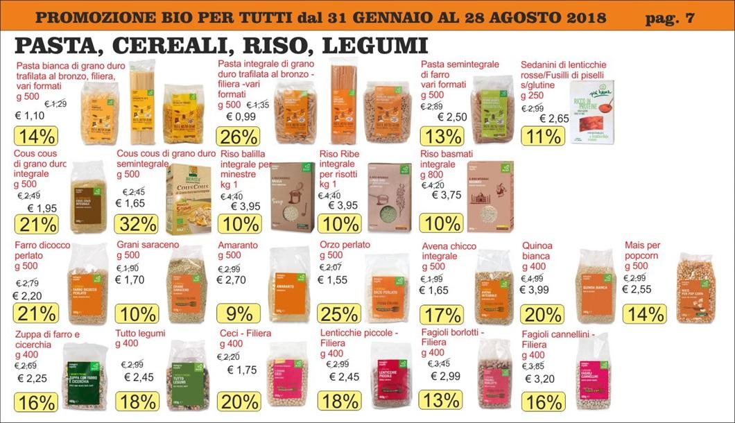 Volantino offerte Bio per Tutti da Biolis negozio biologico di Messina - pagina 7