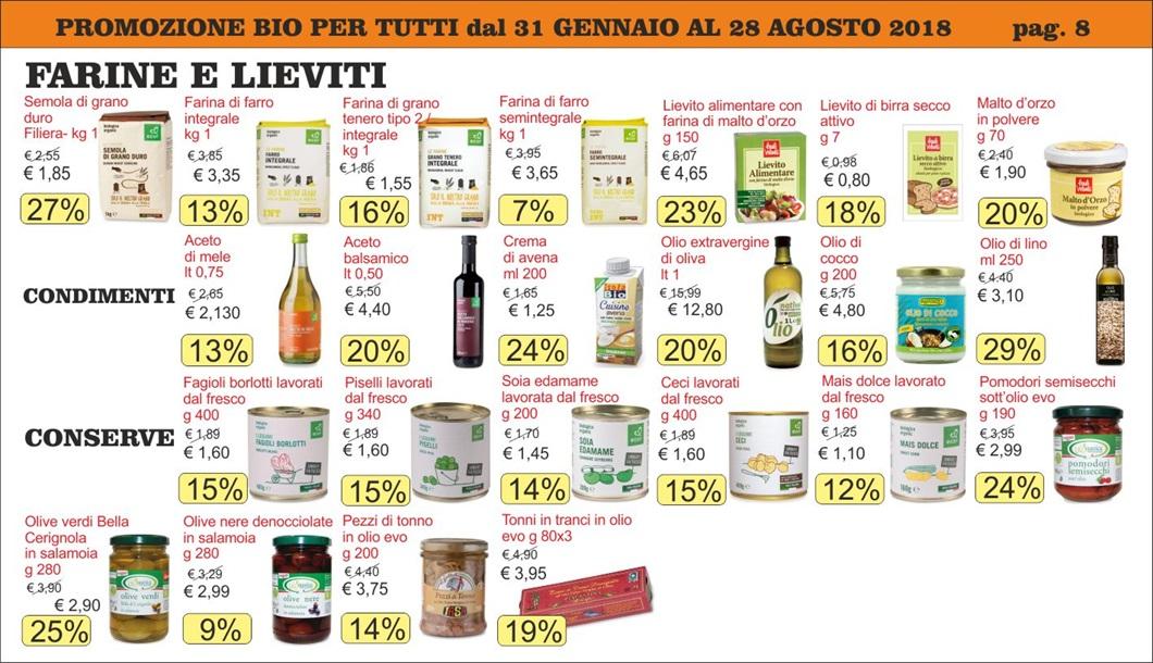 Volantino offerte Bio per Tutti da Biolis - Negozio biologico di Messina - Pagina 8