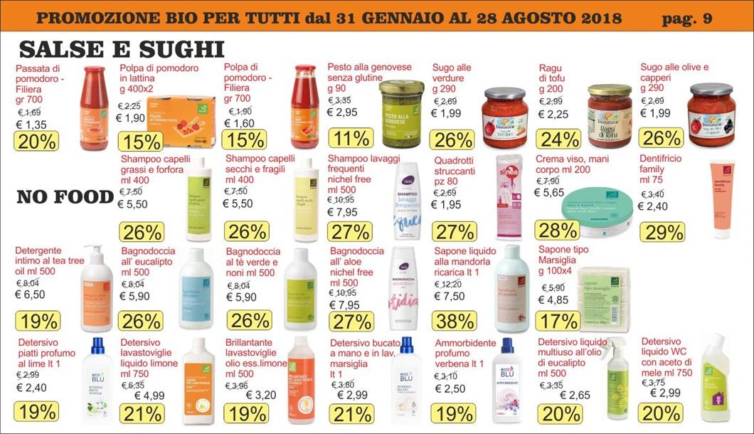 Volantino offerte Bio per Tutti da Biolis - Negozio biologico di Messina - Pagina 9
