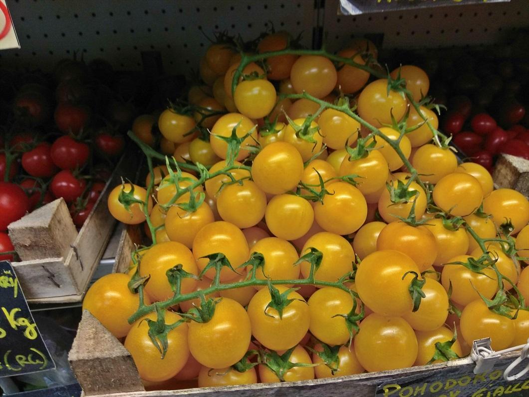 Pomodorino cherry ciliegino giallo siciliano da Biolis - negozio bio di Messina