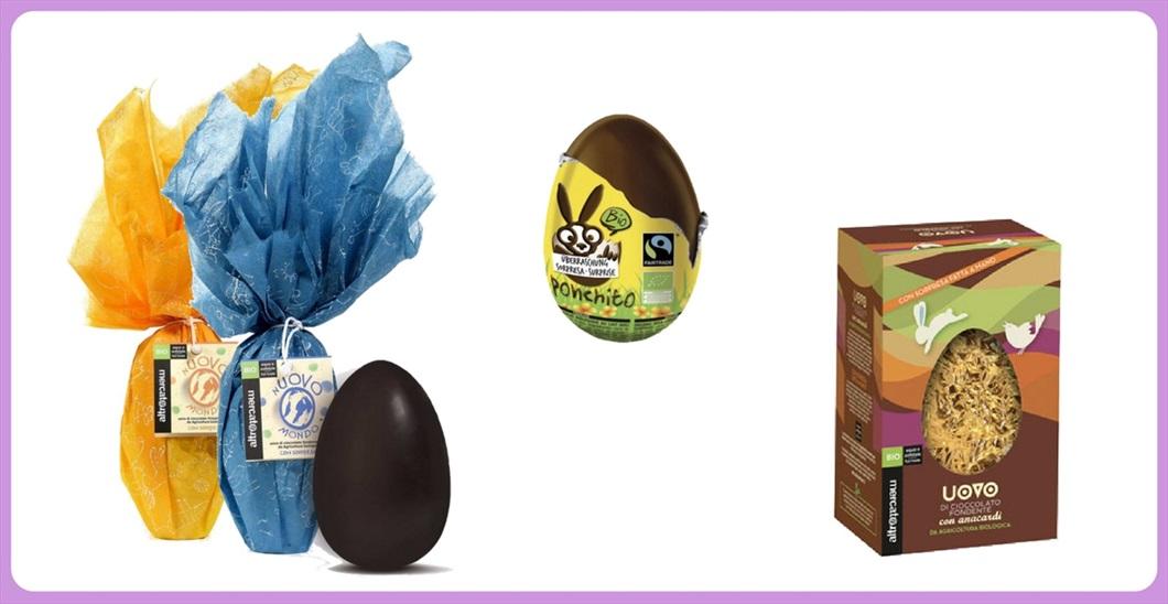 Le nostre uova di Pasqua Equosolidali. Le trovi da Biolis, negozio bio di Messina, per la Pasqua 2018