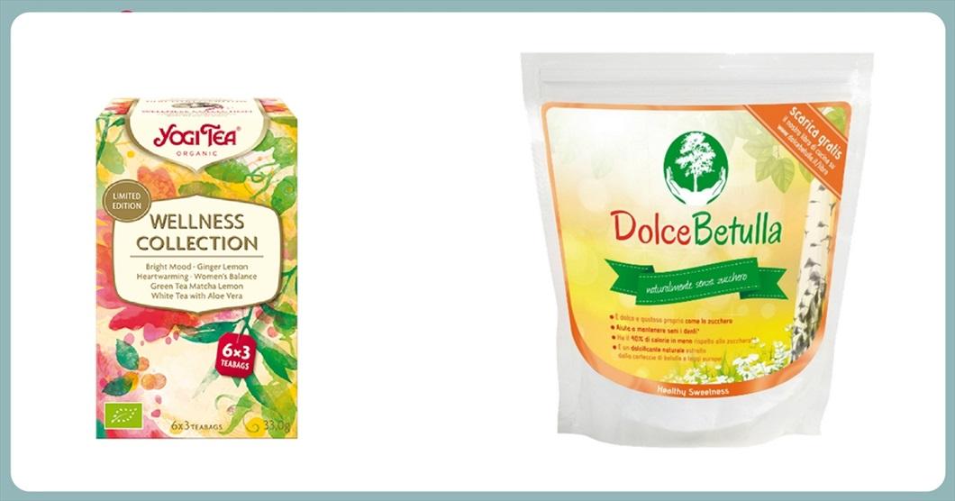Collezione Wellness Yogi Tea - Zucchero di Betulla da 500 grammi. Le novità che trovi a marzo 2018 da Biolis - negozio biologico di Messina