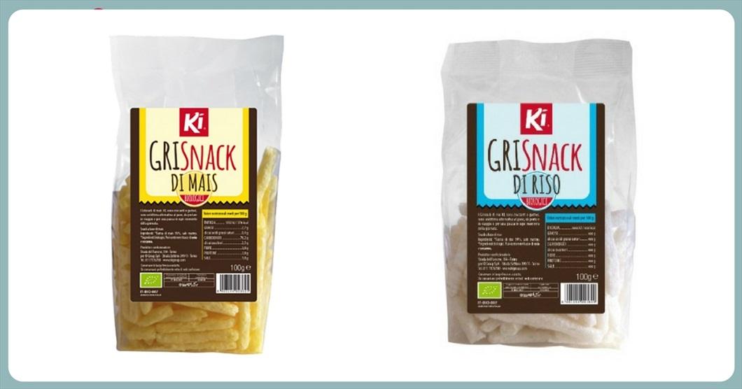 Grisnack di riso o di mais. Sono tra le novità di queste settimane da Biolis, negozio biologico di Messina