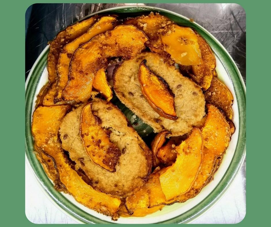 Flan di finocchi all'arancia con zucca - ricetta di Manuela Garaffo per Biolis, negozio bio di Messina
