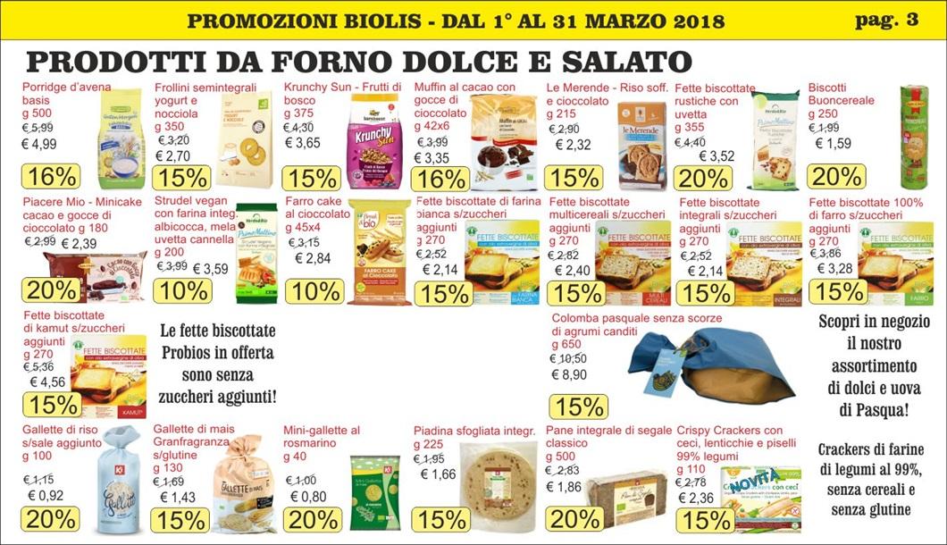 Volantini offerte marzo 2018 - Biolis, negozio bio di Messina - pag 3