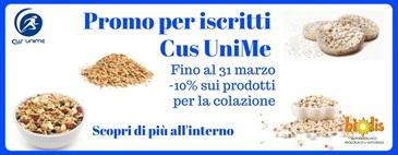 Promo Cus UniMe: -10% sui prodotti colazione fino al 31/3