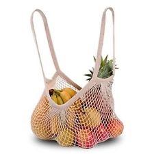 Shopper a rete in cotone biologico estensibile da Biolis in regalo con 20 euro di spesa agli iscritti Cus Unime Messina