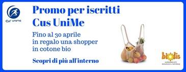 Promo Cus UniMe: shopper in regalo fino al 30 aprile