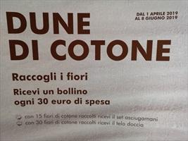 RACCOLTA BOLLINI SEKEM DUNE DI COTONE